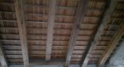 copertura antica in legno di larice
