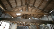copertura e solaio in legno di castagno