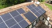 Rifacimento copertura con installazione impianto fotovoltaico