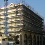 palazzo zaia restauro facciate durante