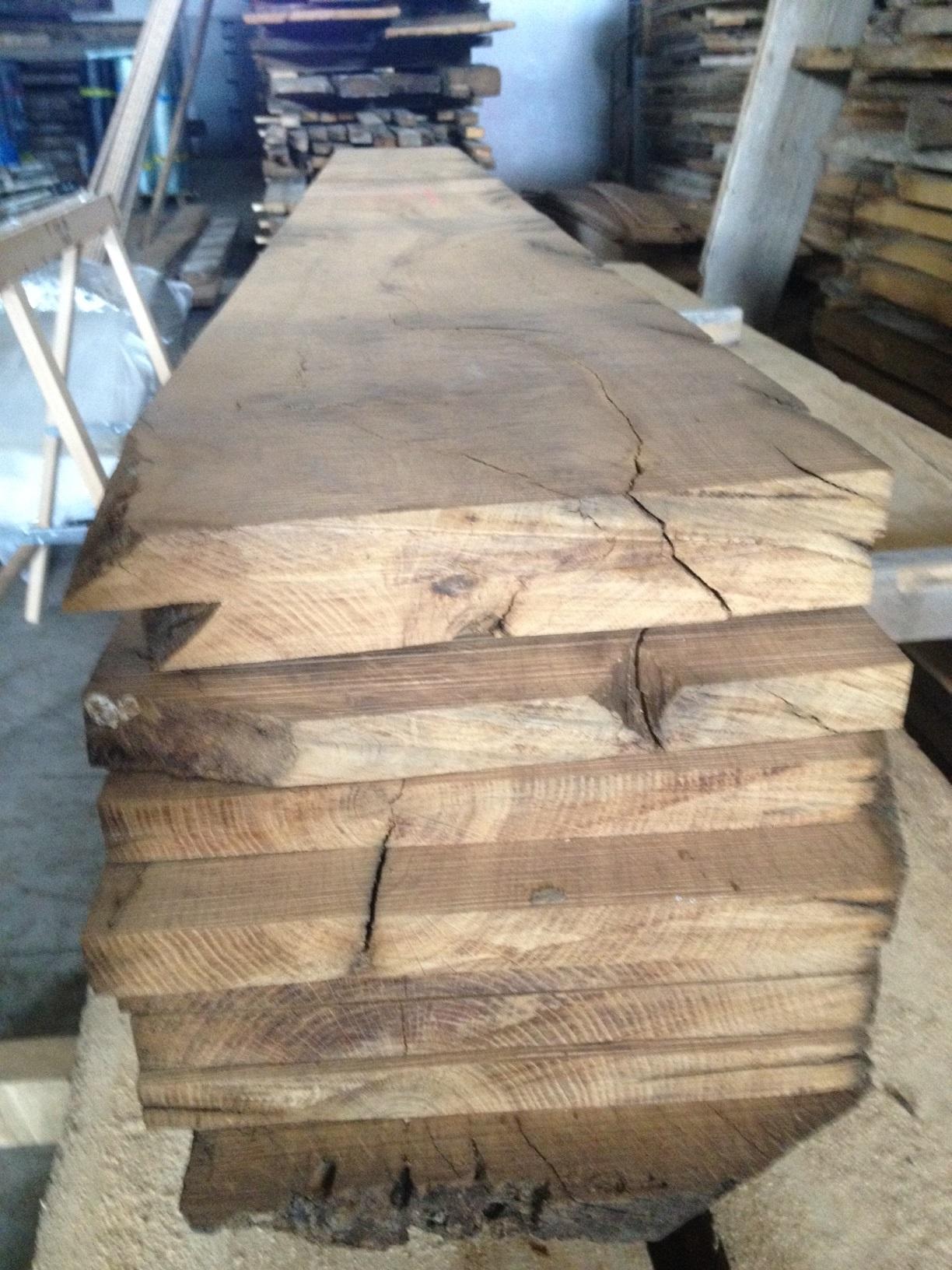 Parquet In Legno Di Ulivo costruzione pilastri: tavole legno di recupero